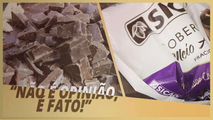 MISTURAR COBERTURA FRACIONADO COM CHOCOLATE NOBRE DA CERTO?