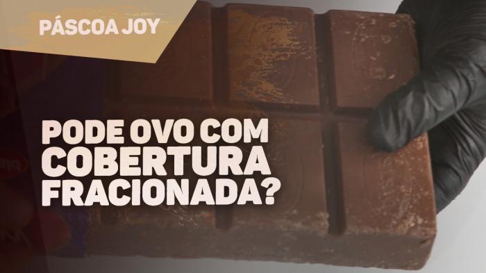 USAR CHOCOLATE OU COBERTURA PARA OVOS DE PÁSCOA?
