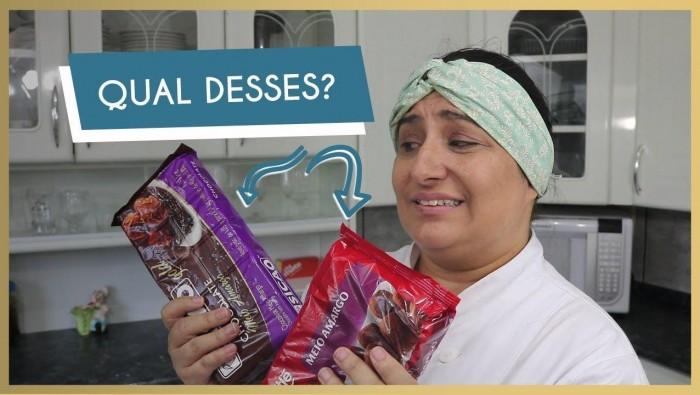Qual marca de chocolate eu prefiro usar para os meus Ovos de Páscoa