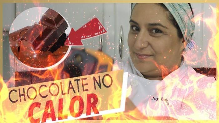 Dicas para Trabalhar com chocolate no calor