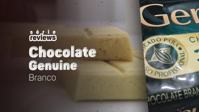 TESTEI O CHOCOLATE BRANCO GENUÍNE E ME IMPRESSIONEI - REVIEW 10