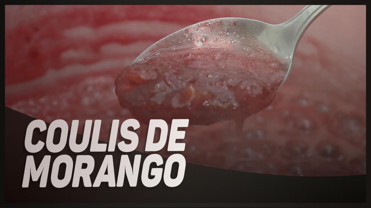 RECHEIO DE COULIS DE MORANGO