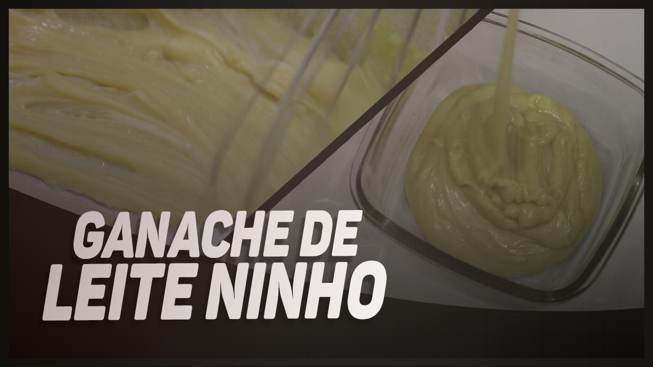 RECHEIO DE GANACHE DE NINHO PARA BOMBONS, PÃO DE MEL, CONES TRUFADOS