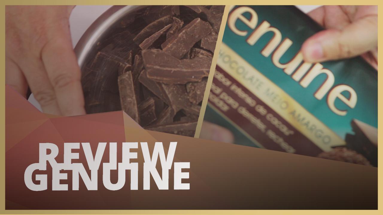 TESTEI O CHOCOLATE DA GENUINE SERÁ QUE É BOM? - REVIEW #001