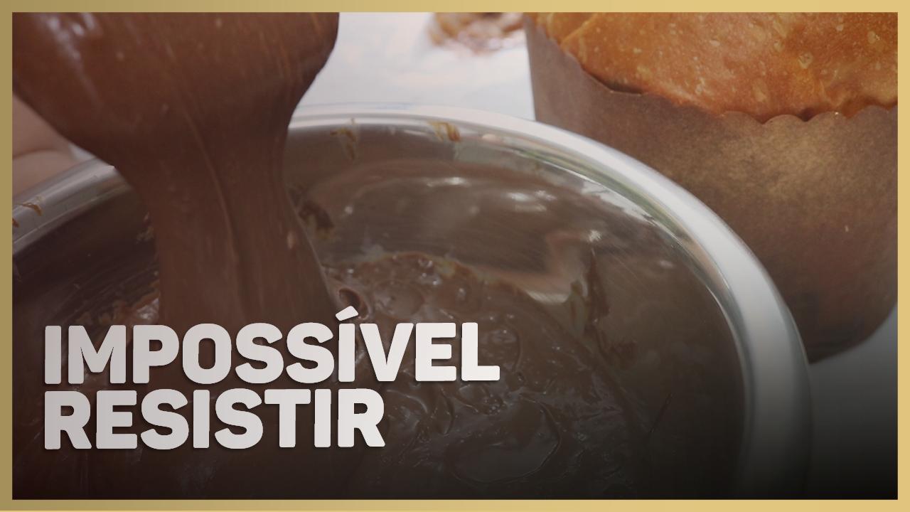 Recheio Trufado de Chocolate Alpino para Panetone Gourmet