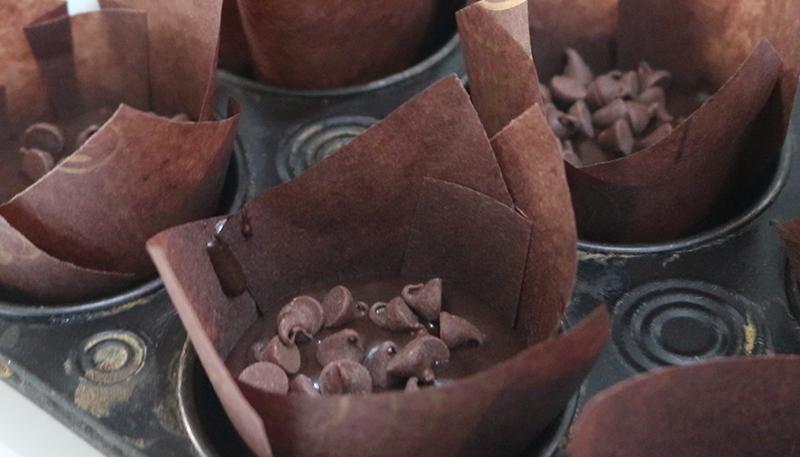 RECEITA: MUFFIN DE CHOCOLATE